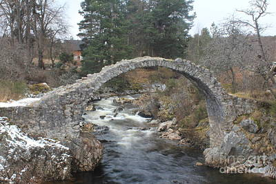 Carrbridge - Scotland Poster by David Grant
