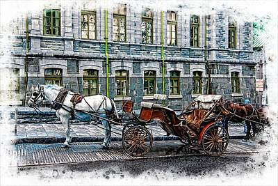 Carriage Rides Series 06 Poster