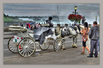 Carriage Ride Poster by Cindy Haggerty