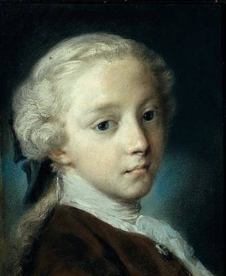 Carriera Rosalba, Portrait Of A Young Poster by Everett