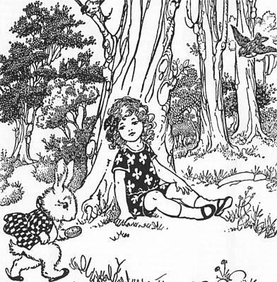 Carroll Alice, 1921 Poster by Granger