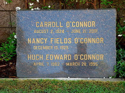 Carroll O'connor Poster by Jeff Lowe