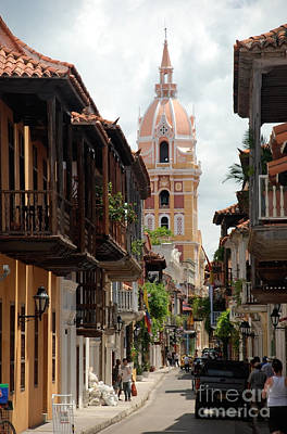 Poster featuring the photograph Cartagena by Jola Martysz