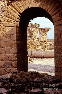 Carthage Roman Ruins Tunisia Poster