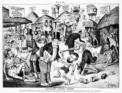Cartoon Anarchists, 1885 Poster by Granger