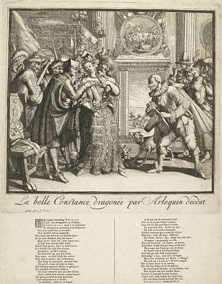 Cartoon By Louis Xiv And The Persecution Of Protestants Poster