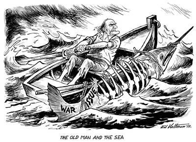 Cartoon Mcgovern, 1972 Poster