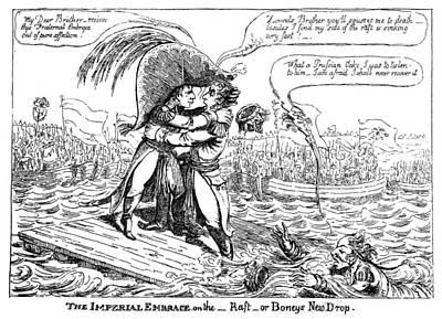 Cartoon Napoleon, C1807 Poster