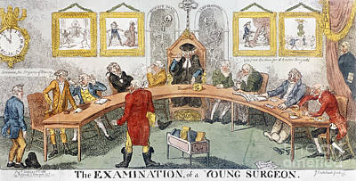 Cartoon: Surgeons, 1811 Poster