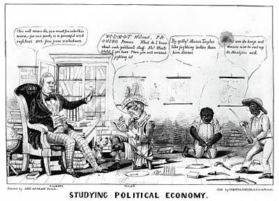 Cartoon Whigs Poster by Granger