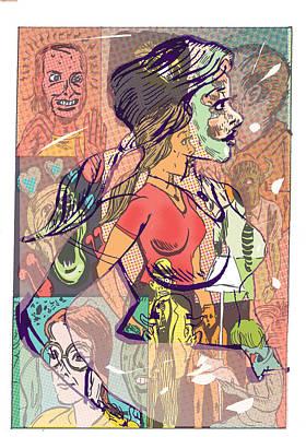 Cartoonus Vomitus Fem Poster