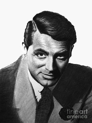 Cary Grant Poster by Loredana Buford