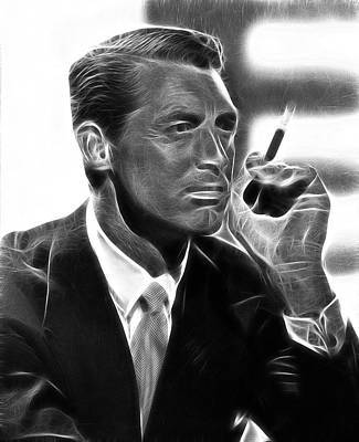 Cary Grant Poster by Doc Braham