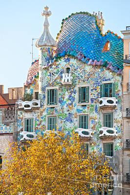Casa Batllo - Barcelona Poster