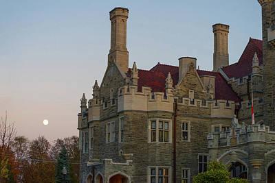 Casa Loma In Toronto, Ontario, Canada Poster