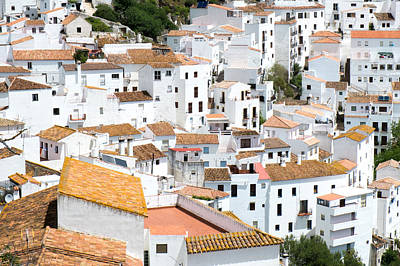 Casares Rooftops Poster