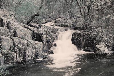 Cascade On Taum Sauk Mountain 2 Poster by Greg Matchick