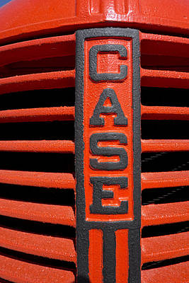 Case Tractor Grill C. 1930 Poster by Daniel Hagerman