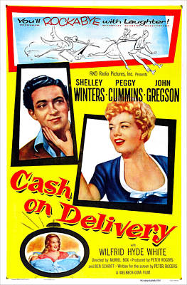 Cash On Delivery, Us Poster, From Left Poster by Everett