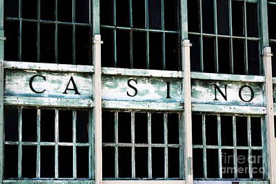 Casino Poster by John Rizzuto