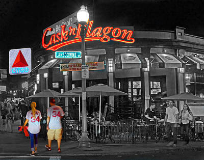 Cask And Flagon 001 Poster