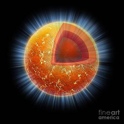 Cassiopeia A Neutron Star Core Poster
