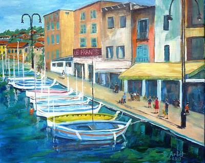 Cassis Waterfront Stroll Poster