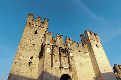 Castello Scaligero, Sirmione, Lago Di Poster by Sergio Pitamitz