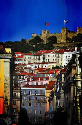 Castelo De Sao Jorge Poster by Mary Machare