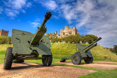 Poster featuring the photograph Castle Cannons by Tim Stanley