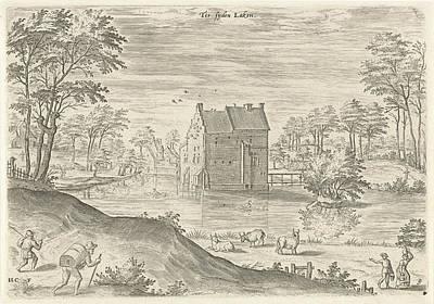 Castle Coensborg In Laken, Hans Collaert Poster