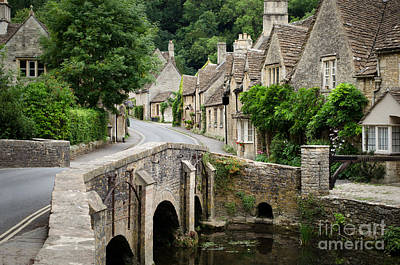 Castle Combe Cotswolds Village Poster