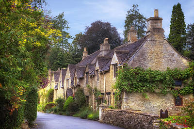 Castle Combe Poster by Joana Kruse