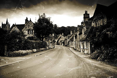 Poster featuring the photograph Castle Combe  by Stewart Scott