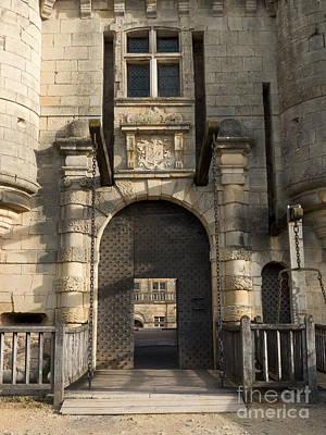 Castle Drawbridge Entry Poster
