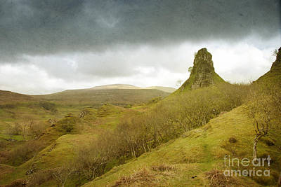 Castle Ewen. Scottish Highland Landscape Poster