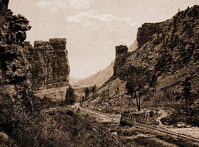Castle Gate, Utah, Jackson, William Henry, 1843-1942 Poster by Litz Collection
