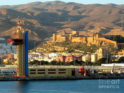 Castle In Almeria Spain Poster by Phyllis Kaltenbach