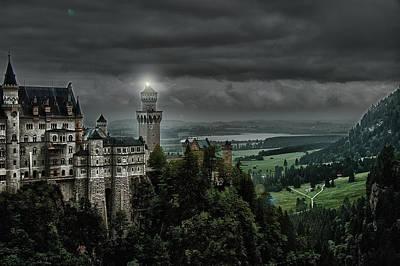 Castle Neuschwanstein II Poster by Patrick Boening