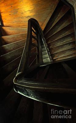 Castle Stairs Poster by Jaroslaw Blaminsky