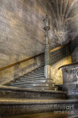 Castle Stairs Poster by Margie Hurwich