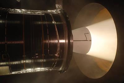 Castor 30 Rocket Motor Poster