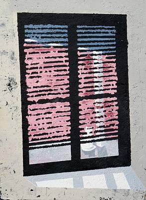 Cat N Window Poster
