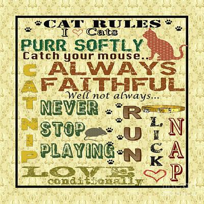 Cat Rules-jp1987 Poster