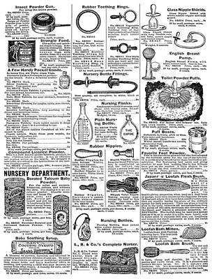 Catalogue Page, 1902 Poster by Granger