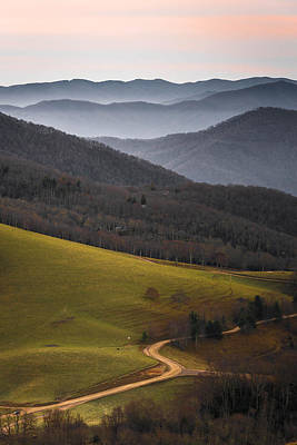 Cataloochee Valley Sunrise Poster by Serge Skiba