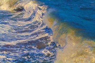 Catch A Wave Poster by John Haldane