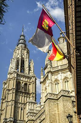 Catedral De Santa Maria De Toledo Poster
