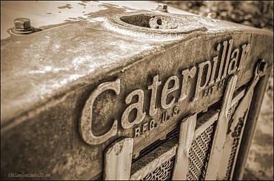 Caterpillar Vintage Poster