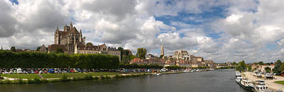 Cathedral At The Waterfront, Cathedrale Poster by Panoramic Images